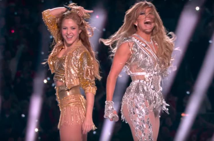 Watch Shakira and Jennifer Lopez's Sizzling Super Bowl Halftime Show
