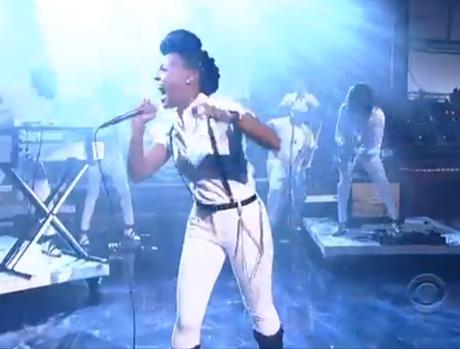 "Janelle Monáe ""Dance Apocalyptic"" (live on 'Letterman')"