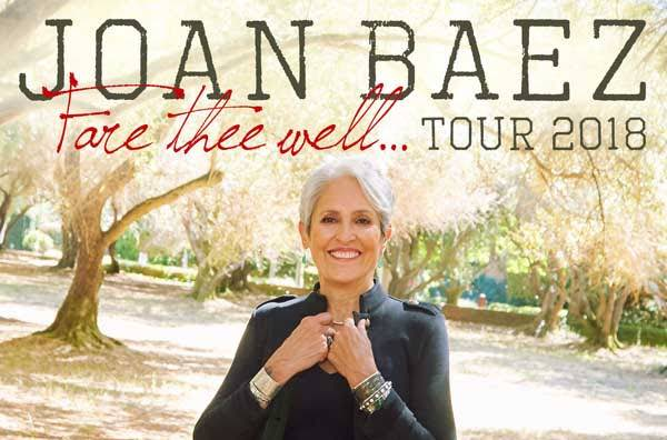 ​Joan Baez Maps Out 'Fare Thee Well Tour'