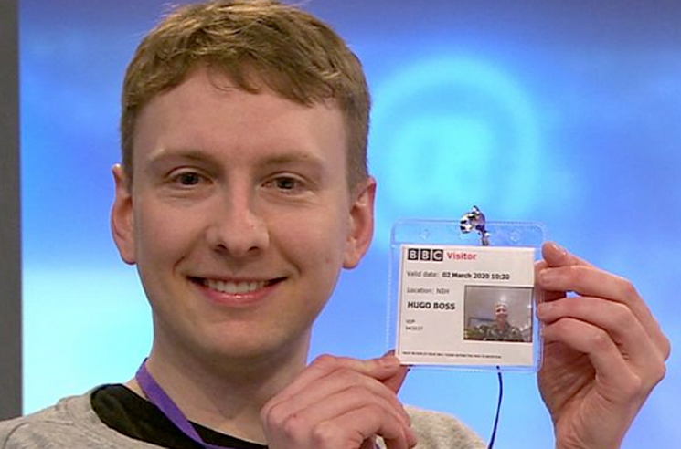 Joe Lycett legally changes his name to Hugo Boss