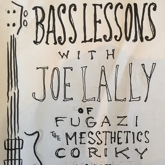 You Can Now Take Bass Lessons from Fugazi's Joe Lally