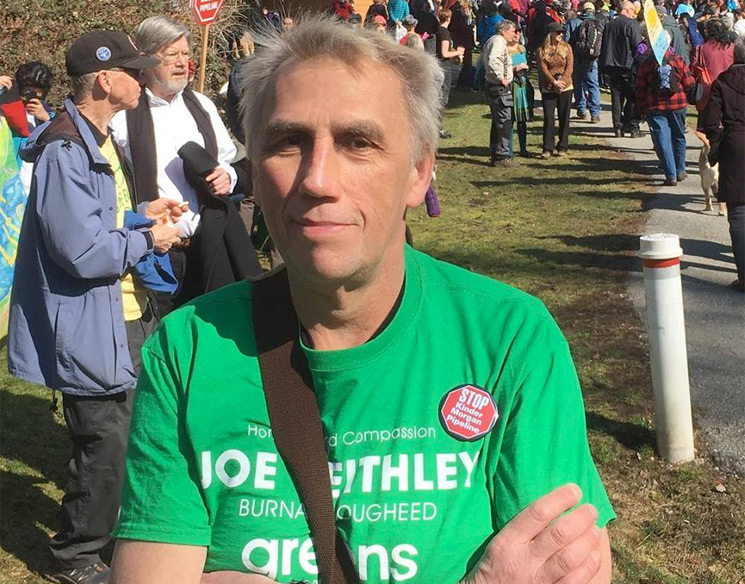 D.O.A.'s Joe Keithley Is Running for Mayor of Burnaby