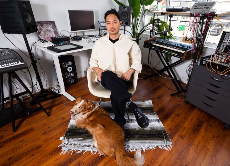 Joel Eel Pares Back His Studio Setup and Finds Love in the Circuitry