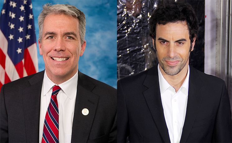 Right-Wing Radio Host Joe Walsh Says Sacha Baron Cohen Tricked Him into an Interview, Too