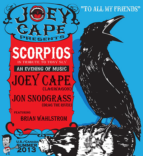 Joey Cape to Lead North American Scorpios Tour in Tribute to Tony Sly