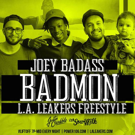 "Joey Bada$$ ""Badmon"" (L.A. Leakers freestyle)"