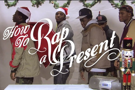Joey Bada$$ 'How to Rap a Present Freestyle' (with Pro Era) (video)