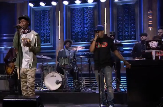 """Joey Bada$$ """"Like Me"""" (ft. BJ the Chicago Kid and the Roots) (live on 'Fallon')"""