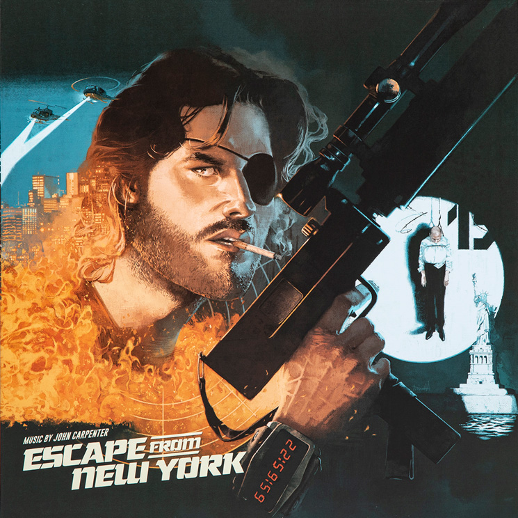 John Carpenter's 'Escape from New York' and 'The Fog' Get New Vinyl Pressings on Waxwork