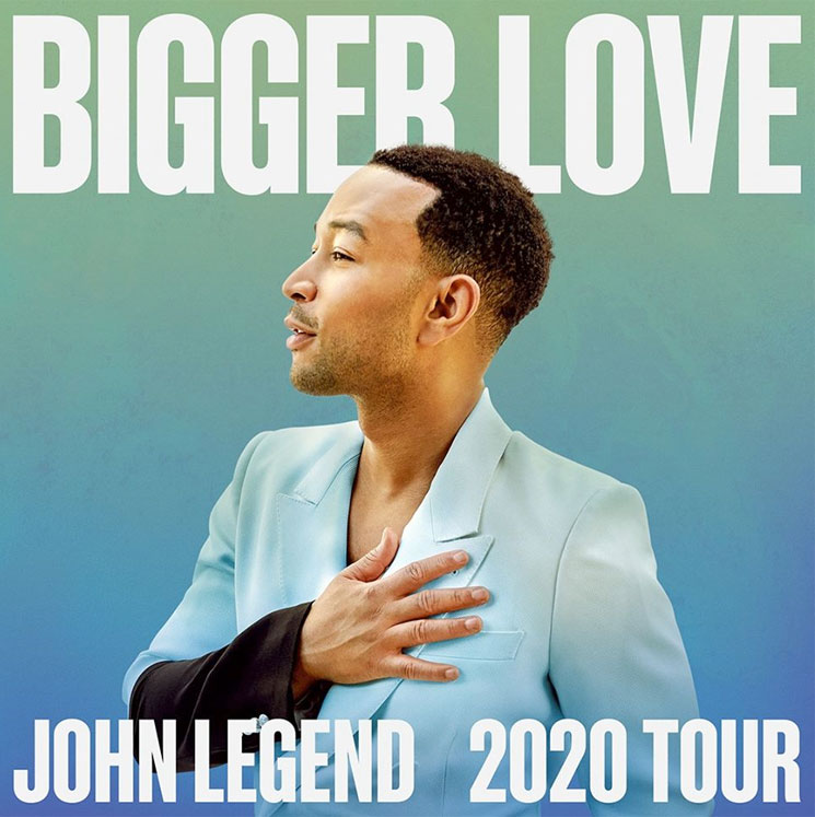 "John Legend Plots ""Bigger Love Tour"" with Stops in Toronto, Vancouver"