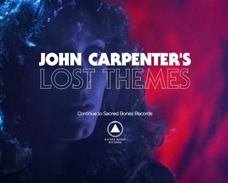 John Carpenter 'Vortex'