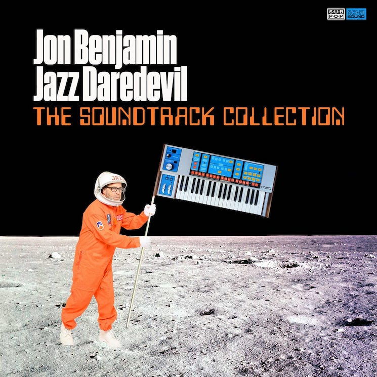 Comedian H. Jon Benjamin Takes on Classic Film Soundtracks as the Jazz Daredevil