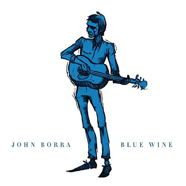 John Borra Blue Wine