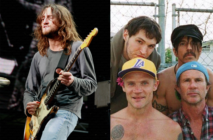 Red Hot Chili Peppers announce guitarist John Frusciante is rejoining band