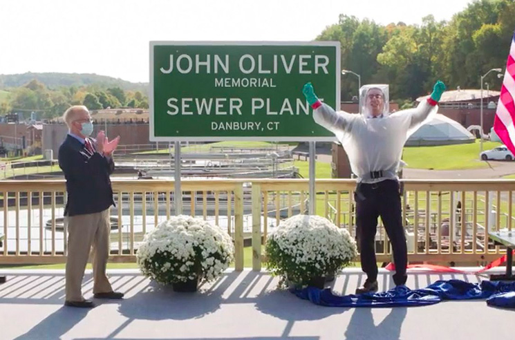 Connecticut Sewage Plant Named After John Oliver