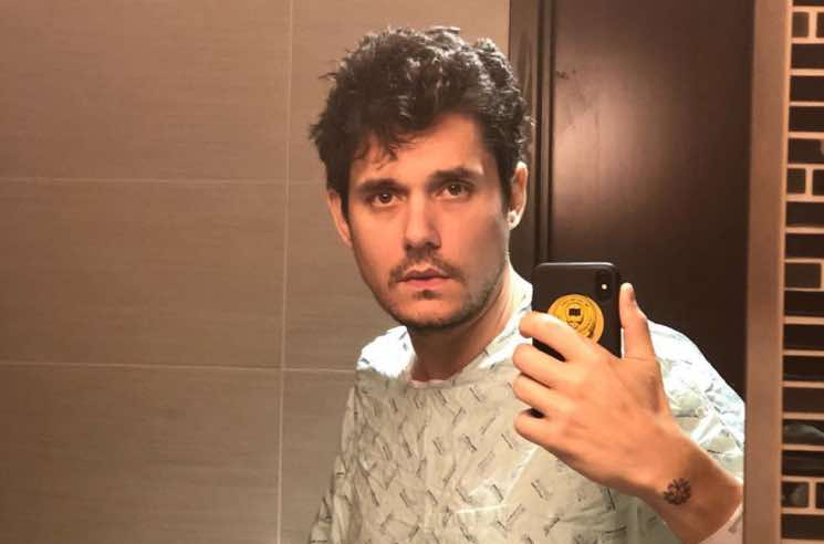 John Mayer Had an Emergency Appendectomy and Seems to Be Enjoying the Painkillers
