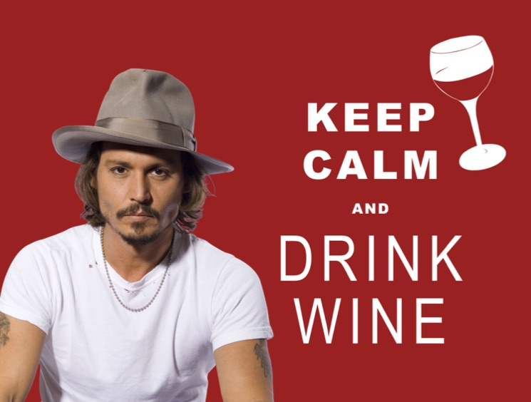 Johnny Depp Allegedly Spends $30,000 a Month on Wine