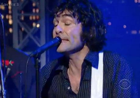 Jon Spencer Blues Explosion 'Strange Baby' (live on 'Letterman')