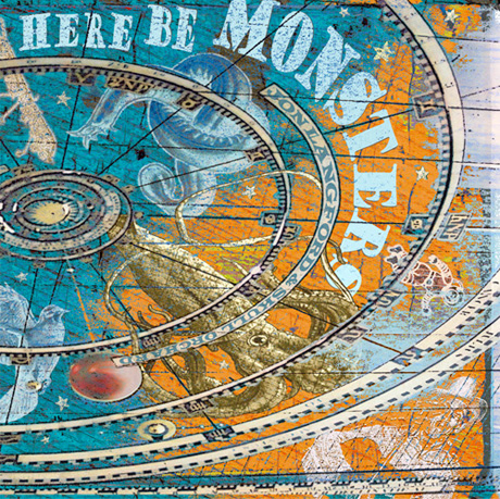 Jon Langford Returns with 'Here Be Monsters'