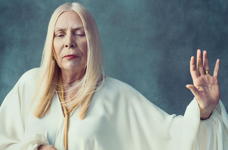 Joni Mitchell Opens Up About Aneurysm Recovery in Rare Interview