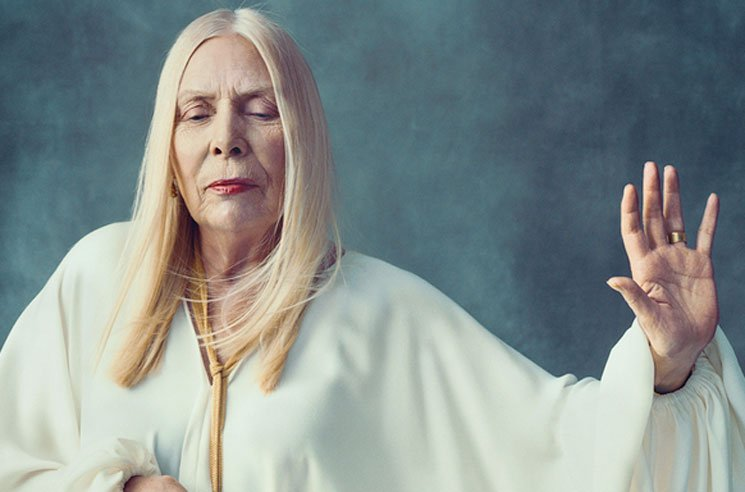 Joni Mitchell Reportedly Suffered Brain Aneurysm, Moved to Rehab