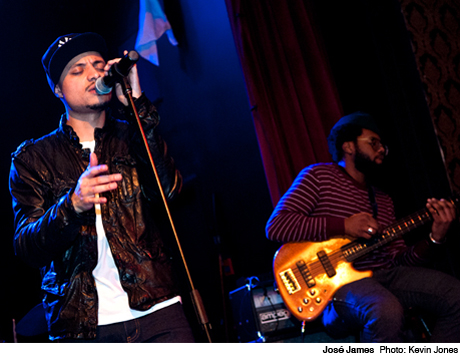 José James Great Hall, Toronto ON March 2