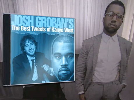 Josh Groban Sings Kanye West Tweets (on <i>Jimmy Kimmel</i>)