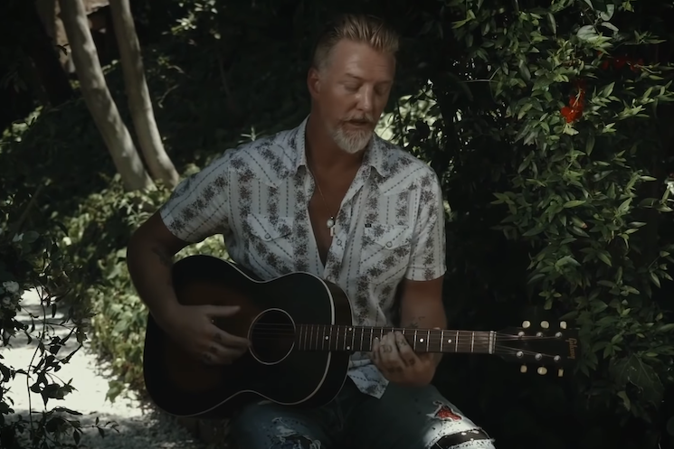Josh Homme Performs Them Crooked Vultures' 'Spinning in Daffodils' for Lolla2020