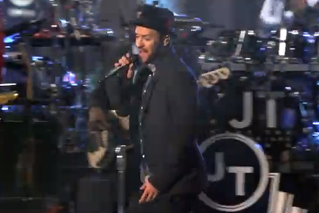 Justin Timberlake 'Take Back the Night' / 'TKO' (live on 'Kimmel')