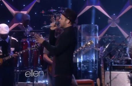 "Justin Timberlake ""TKO"" (live on 'Ellen')"