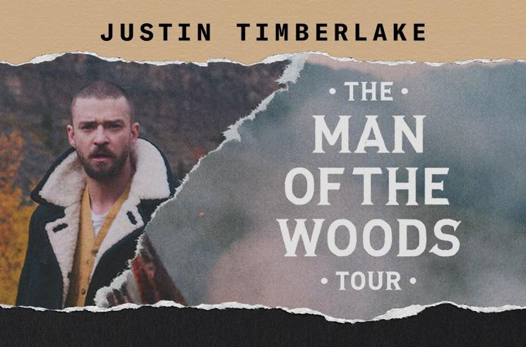 "​Justin Timberlake Announces ""The Man  the Woods Tour"""