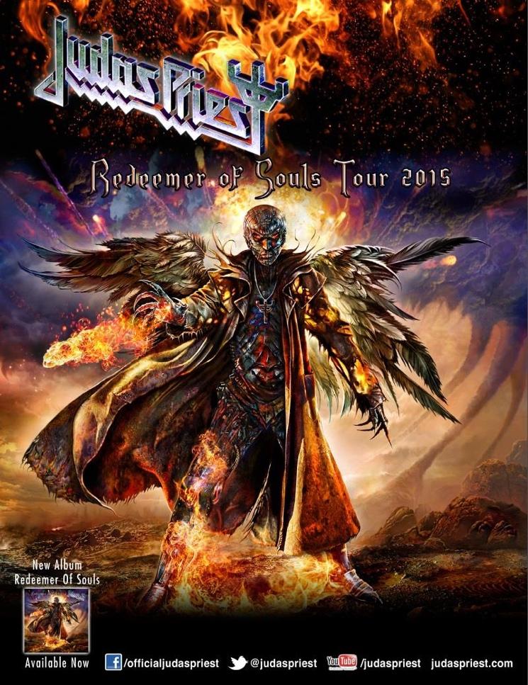 Judas Priest Announce 2015 Fall Tour