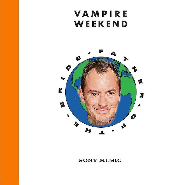 The Japanese Version of Vampire Weekend's 'Father of the Bride' Includes Jude Law Reading a Scottish Poem