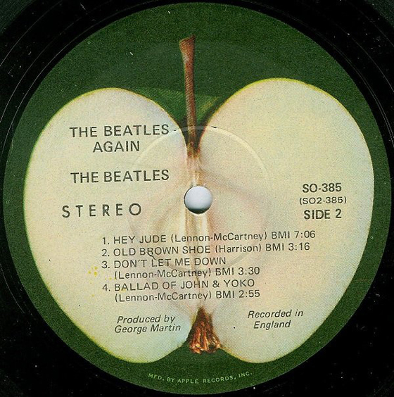 "The Beatles' ""Hey Jude"" Single Was Nearly Scrapped over Its ""Pornographic"" Apple Label"