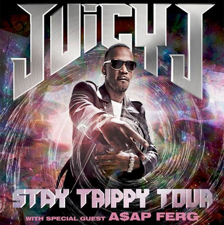 "Juicy J Announces ""Stay Trippy"" North American Tour with A$AP Ferg"