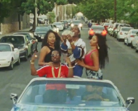 "Juicy J ""Scholarship"" (ft. A$AP Rocky) (video)"