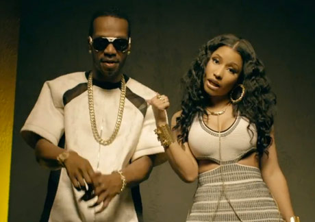 "Juicy J ""Low"" (ft. Nicki Minaj, Lil Bibby and Young Thug) (video)"