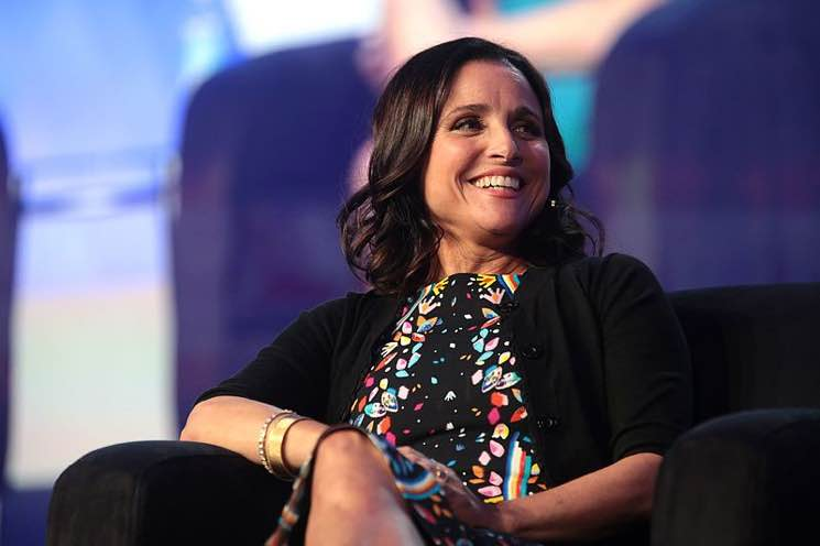​Julia Louis-Dreyfus Criticizes Brett Kavanaugh While Accepting Mark Twain Prize