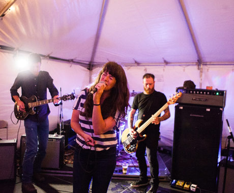 Julie Doiron & the Wrong Guys Beer Garden, Toronto ON, September 21