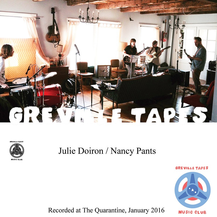 Julie Doiron & Nancy Pants 'Greville Tapes, Vol. 2' (EP stream)
