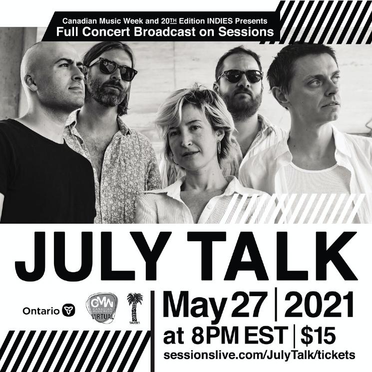 Watch July Talk's El Mocambo Virtual Show