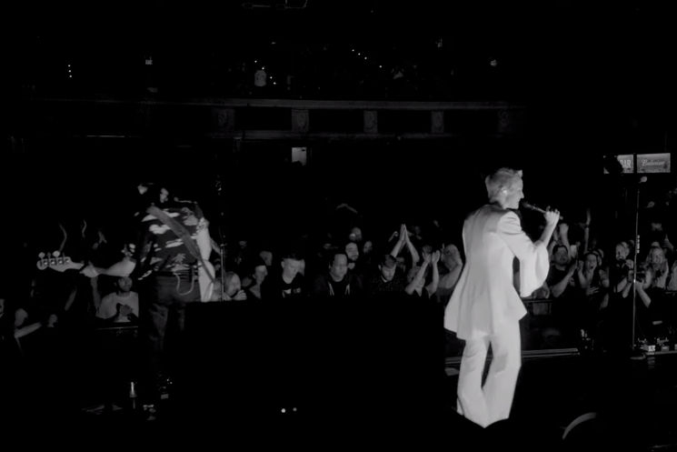 "Watch Tanya Tagaq and Weaves' Jasmyn Burke Join July Talk for ""Beck + Call"" Performance"