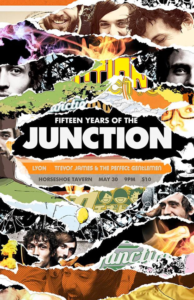 The Junction Sign to Culvert Music for New LP