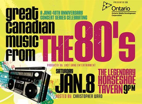 Juno Awards Celebrate the '80s with Tribute Night in Toronto