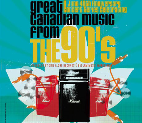 Juno Awards Pay Tribute to the '90s This Saturday in Toronto