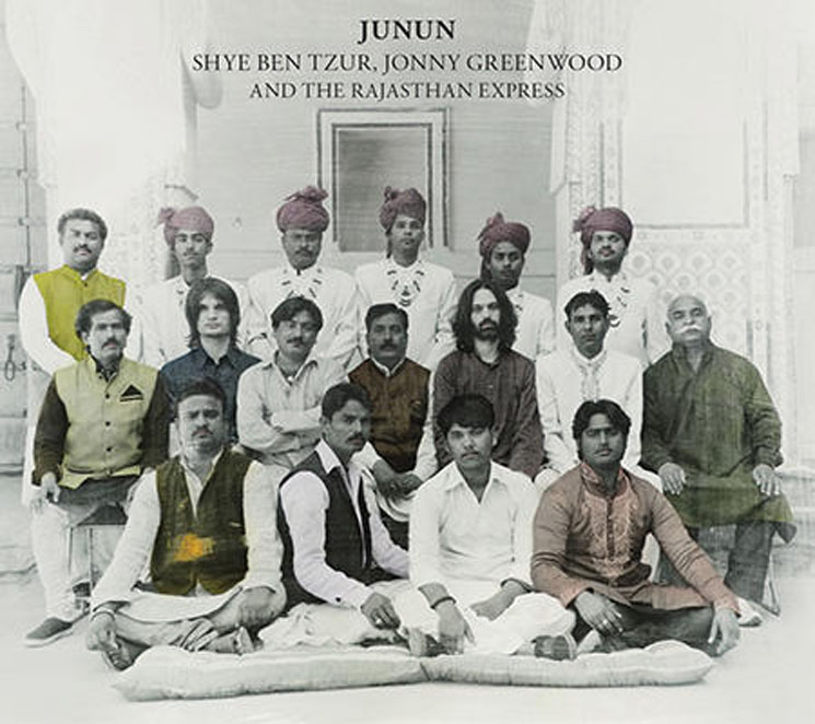 Shye Ben Tzur, Jonny Greenwood and the Rajasthan Express Junun