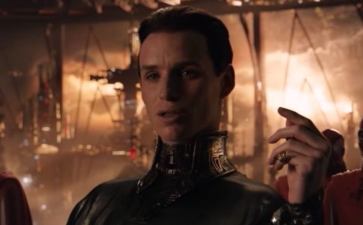 Eddie Redmayne Finally Admits He Was Bad in 'Jupiter Ascending'