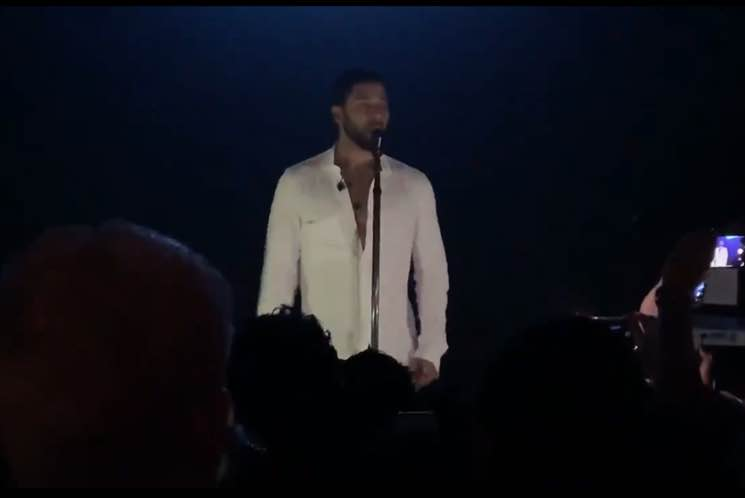 'Empire' Star Jussie Smollett Performs for the First Time Since Chicago Attack
