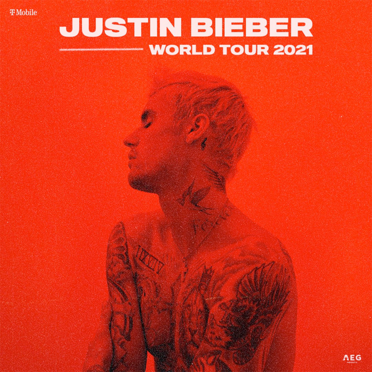 Justin Bieber Announces Rescheduled Tour Dates for 2021