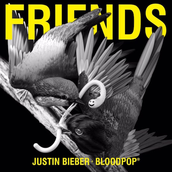 "Justin Bieber Drops Brand New Single ""Friends"""